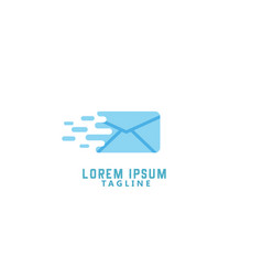 Mail delivery logo vector
