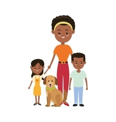 Mother and kids icon Family design vector