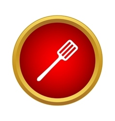 Spatula icon in simple style vector image