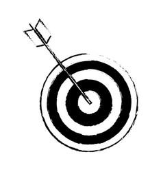 target arrow marketing business successful design vector image