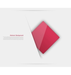 abstract background Square red vector image