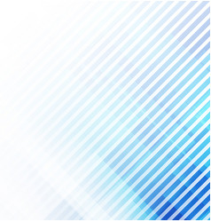abstract lines on white and blue background vector image