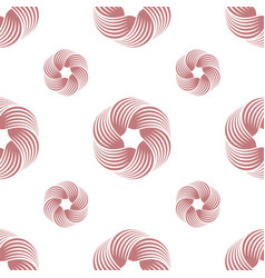 abstract swirl or twisted geometric seamless vector image