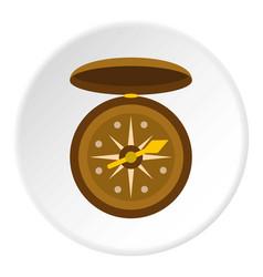 Compass icon circle vector