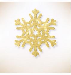 elegant christmas background golden shining vector image