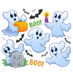 Ghost theme image 9 vector