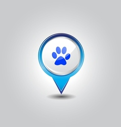 Pet shop pins vector