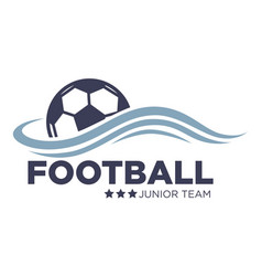 soccer or football match isolated icon vector image