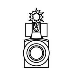 video handycam isolated icon vector image