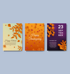 autumn special offer leaves sale banners or party vector image