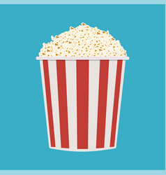 bag of popcorn vector image