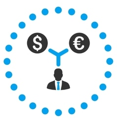 Currency Management Icon vector