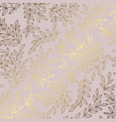 decorative background with branches and imitation vector image