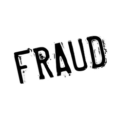 Fraud rubber stamp vector