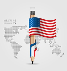 modern Design template flag style vector image