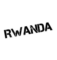 Rwanda rubber stamp vector