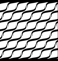 Waves lines seamless pattern vector
