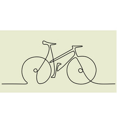 Abstract bike vector
