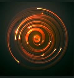 abstract technology electrons background concept vector image
