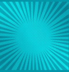 Comic dynamic elegant turquoise background vector