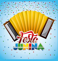 Festa junina summer parties vector