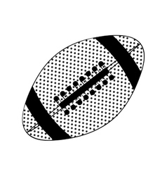 football ball icon image vector image