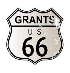 Grants route 66 vector