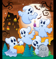 Halloween character image 6 vector