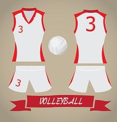 Sport Uniform vector image