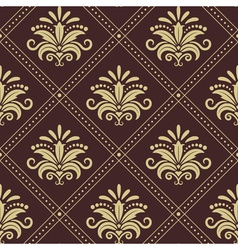 Vintage wallpaper seamless vector image