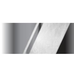 Abstract metallic header banner with grunge vector