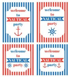 pirat party 10 vector image