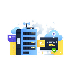 Computer system using for tuning cloud servers vector