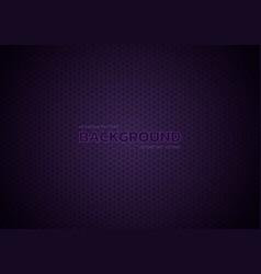 Hexagon pattern purple color background vignette vector