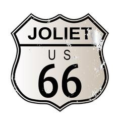 Joliet route 66 vector