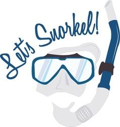 Lets Snorkel vector