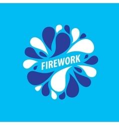 Logo firework vector