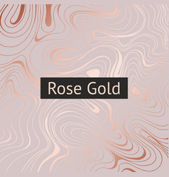 Rose gold abstract decorative background vector