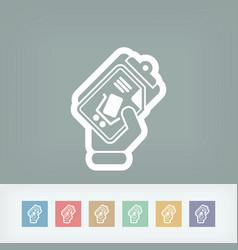 Web shopping vector