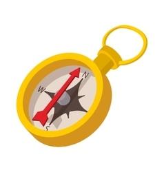 Compass icon cartoon style vector image vector image