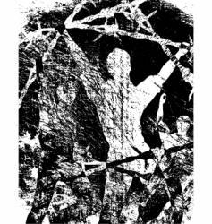 escape vector image vector image