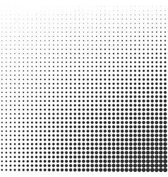 halftone gradient effect background vector image