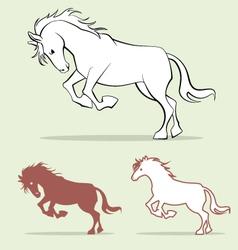 Horse 2 vector