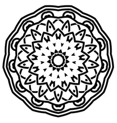 indian mandala design vector image