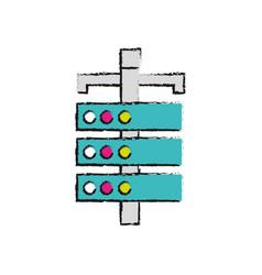 Network computer server data information vector