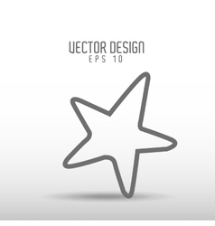 Sky drawn icon design vector