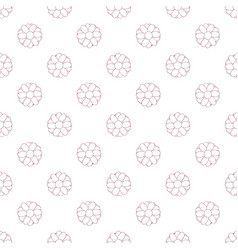 vintage seamless floral pattern beautiful flower vector image