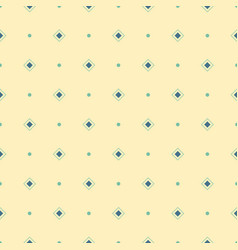 abstract seamless pattern of repeating rhombuses vector image