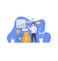 Analyze and manage investment vector