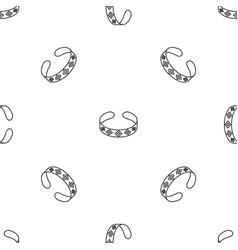 bracelet pattern seamless vector image